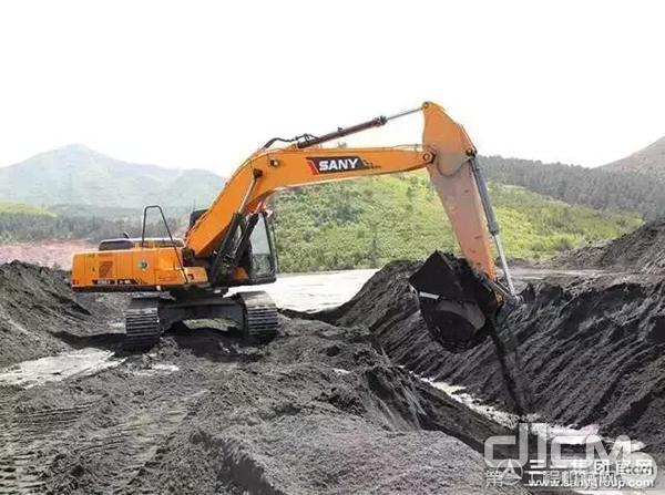三一挖掘机设备